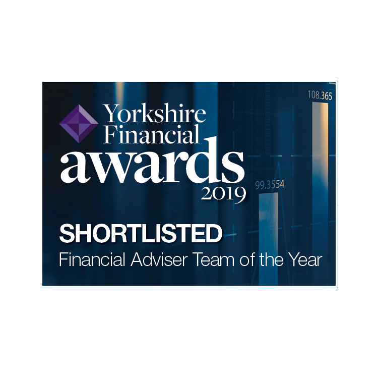 Shortlisted in the Yorkshire Financial Awards