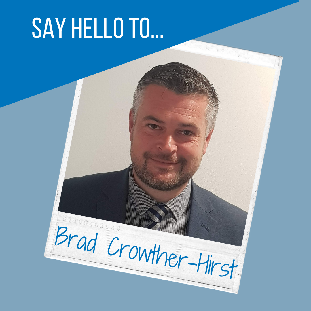 Welcome to the team - Brad