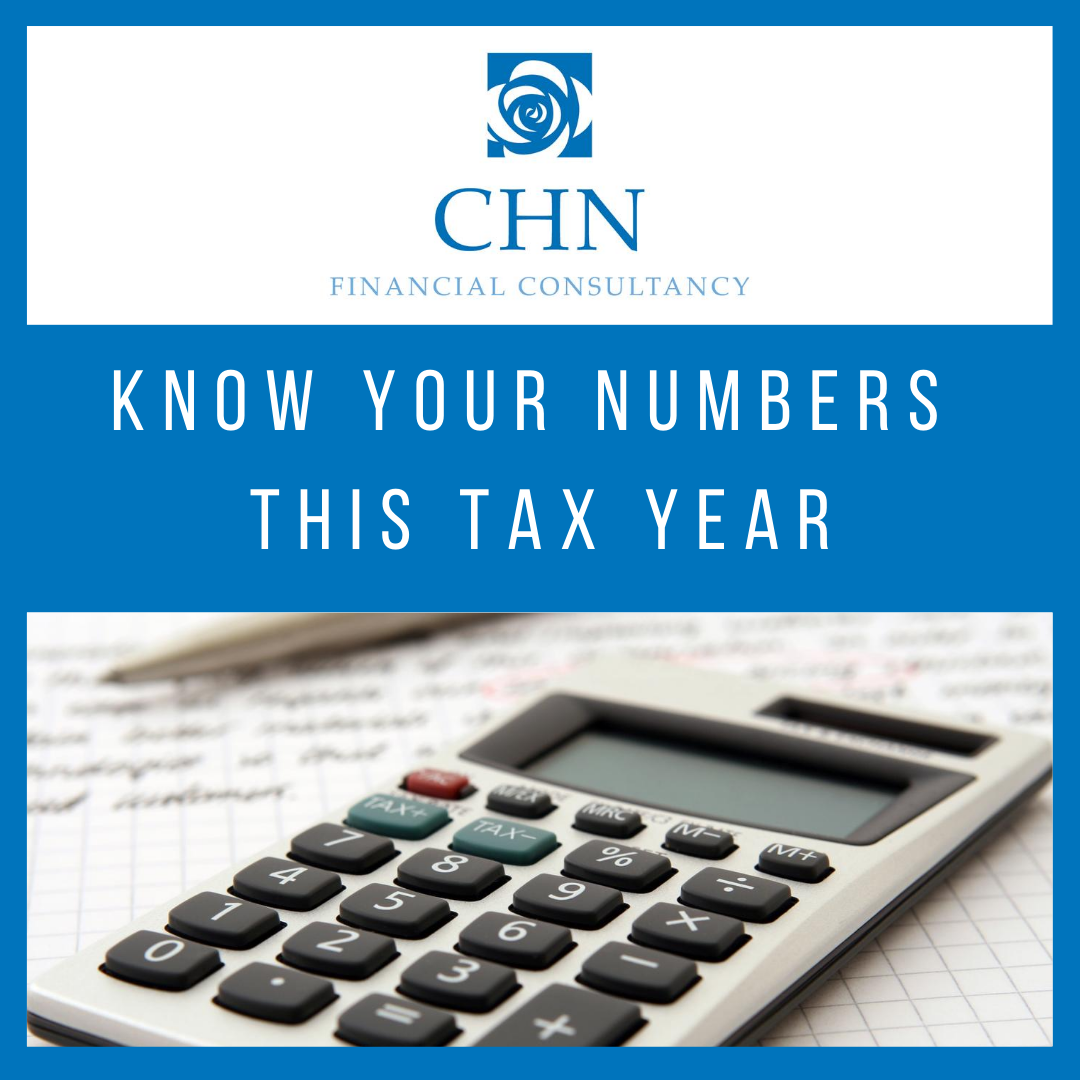 Know your numbers this tax year